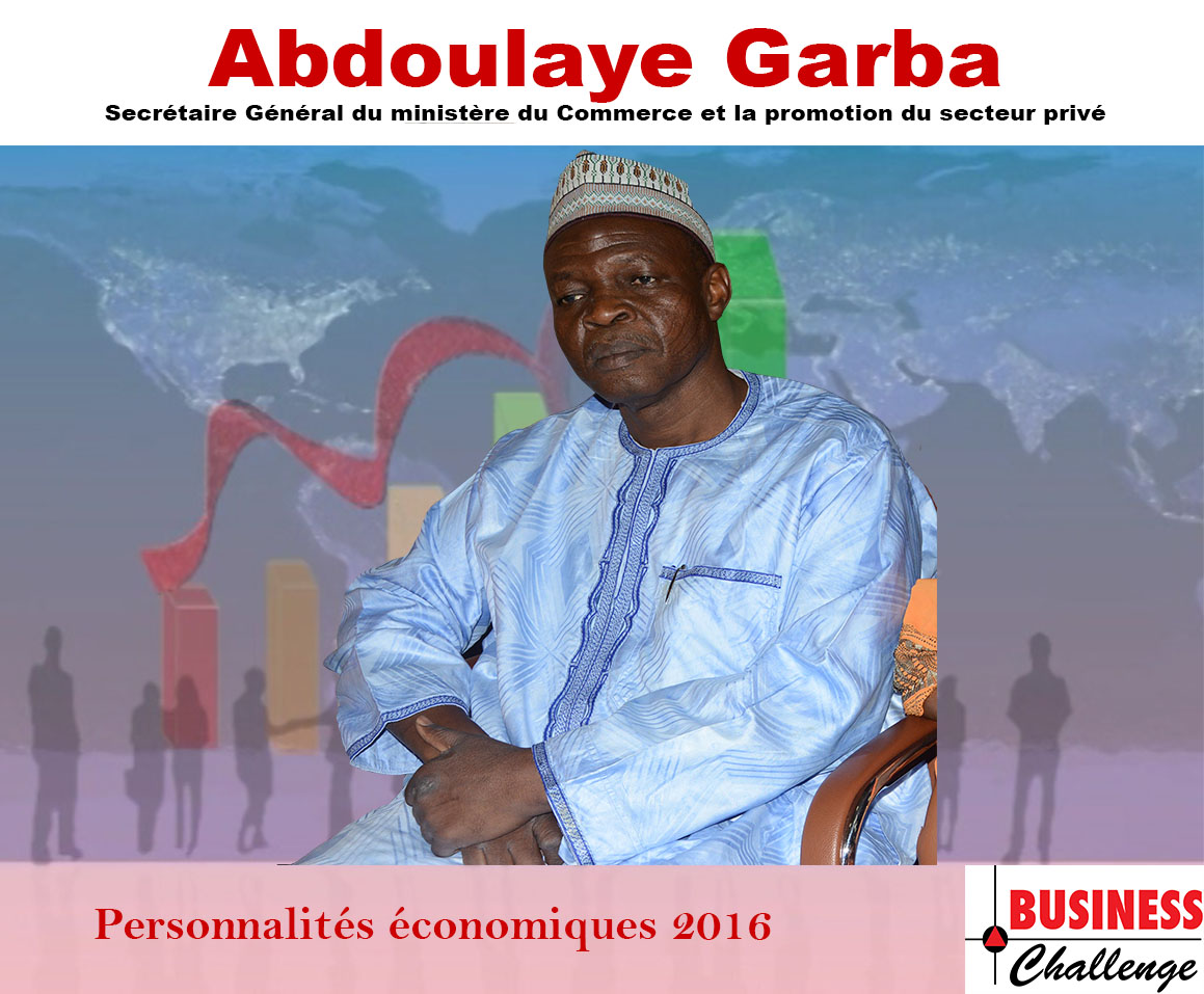 Abdoulaye Garba, parmi les personnalités économiques de l'année 2016