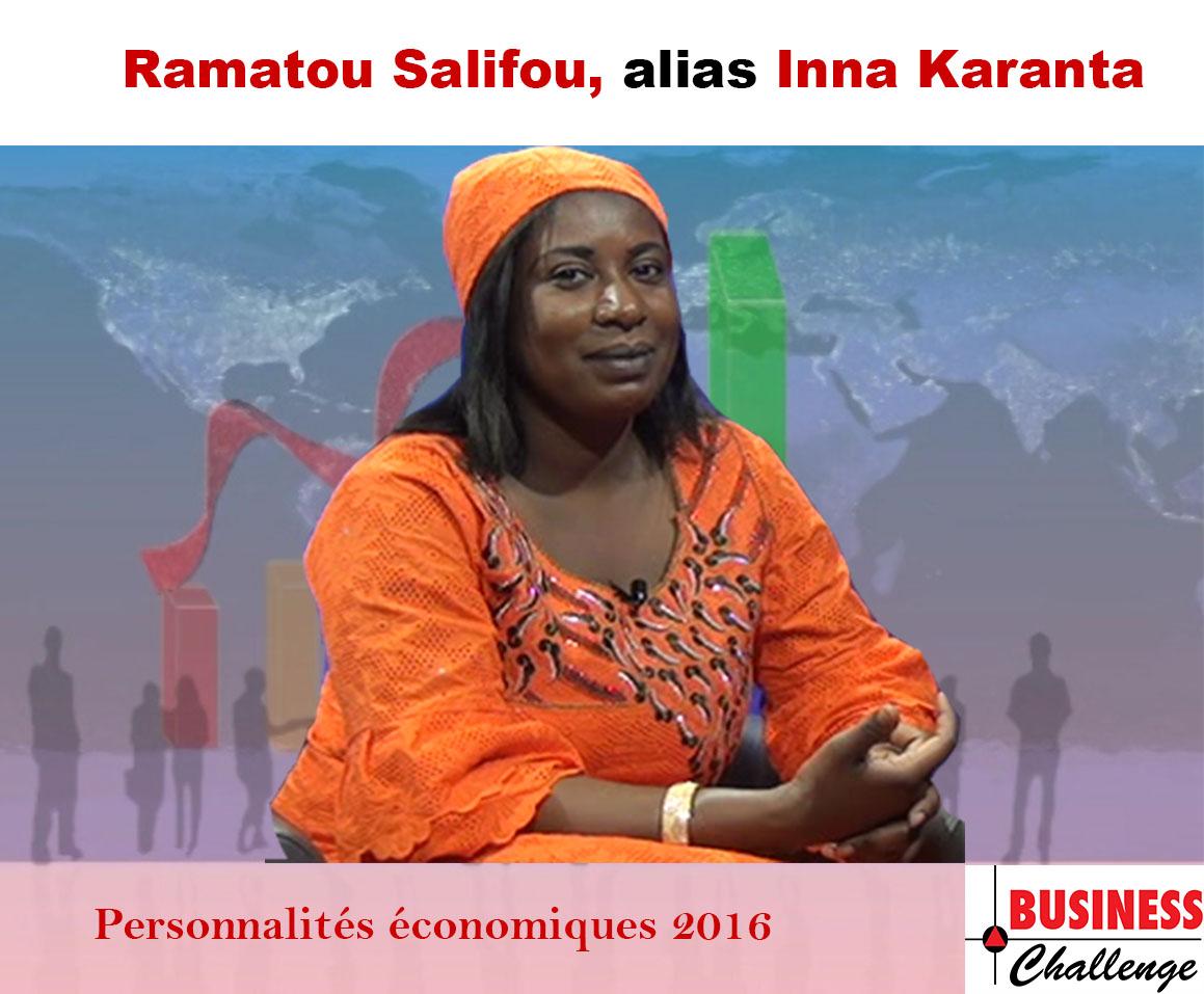 Inna Karanta, parmi les personnalités économiques de l'année 2016