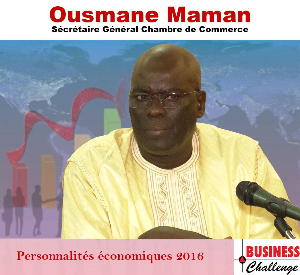 Ousmane Maman, parmi les personnalités économiques de l'année 2016