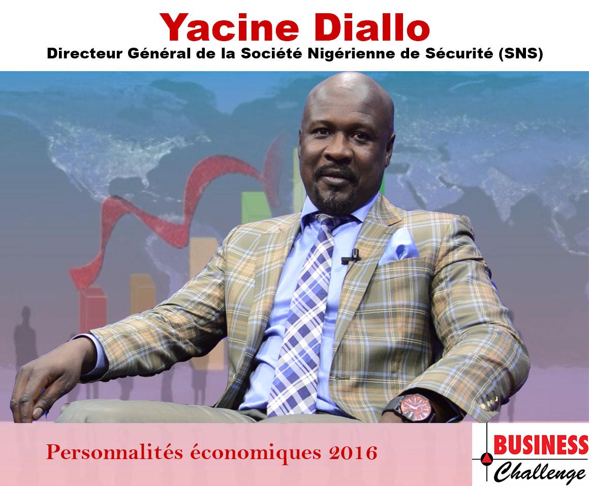 Yacine Diallo, parmi les personnalités économiques de l'année 2016