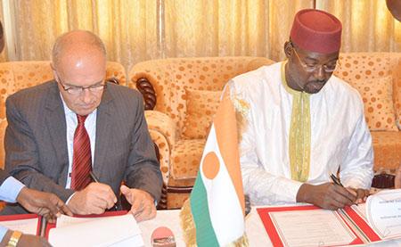 Signature d'une convention d'appui au secteur de la santé et de l'élevage au Niger