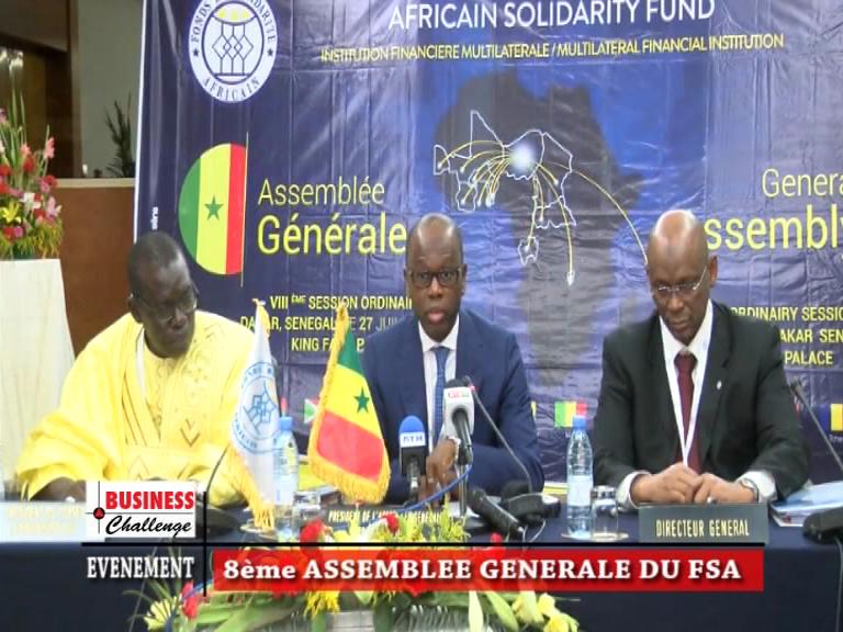 Le Fonds de Solidarité Africain (FSA) enclenche une nouvelle dynamique