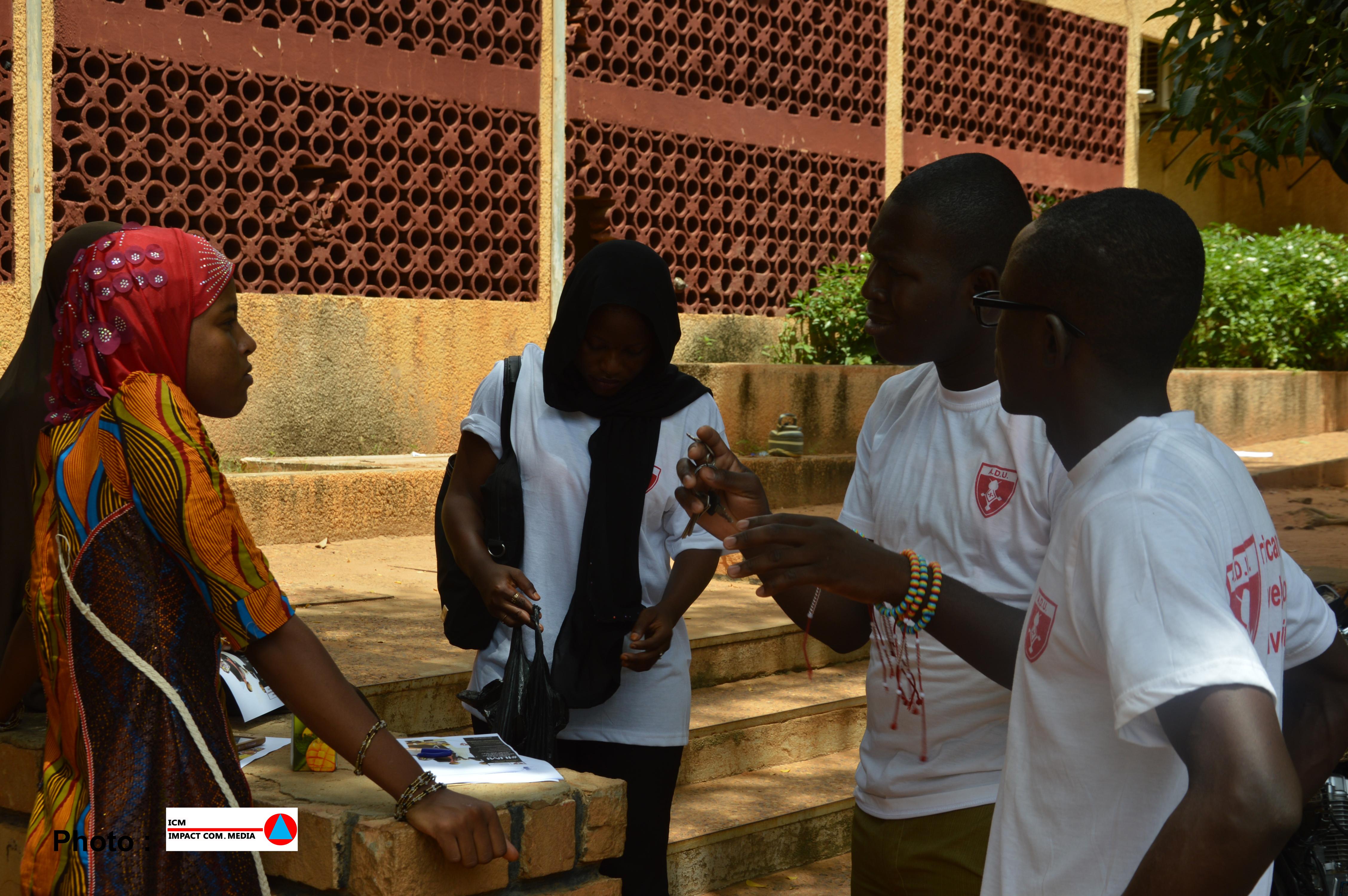 ADU en prospection à Niamey
