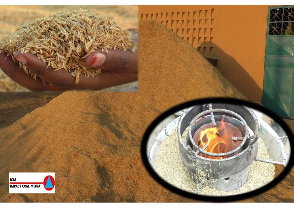 Fours à balle de riz : une solution économique et écologique