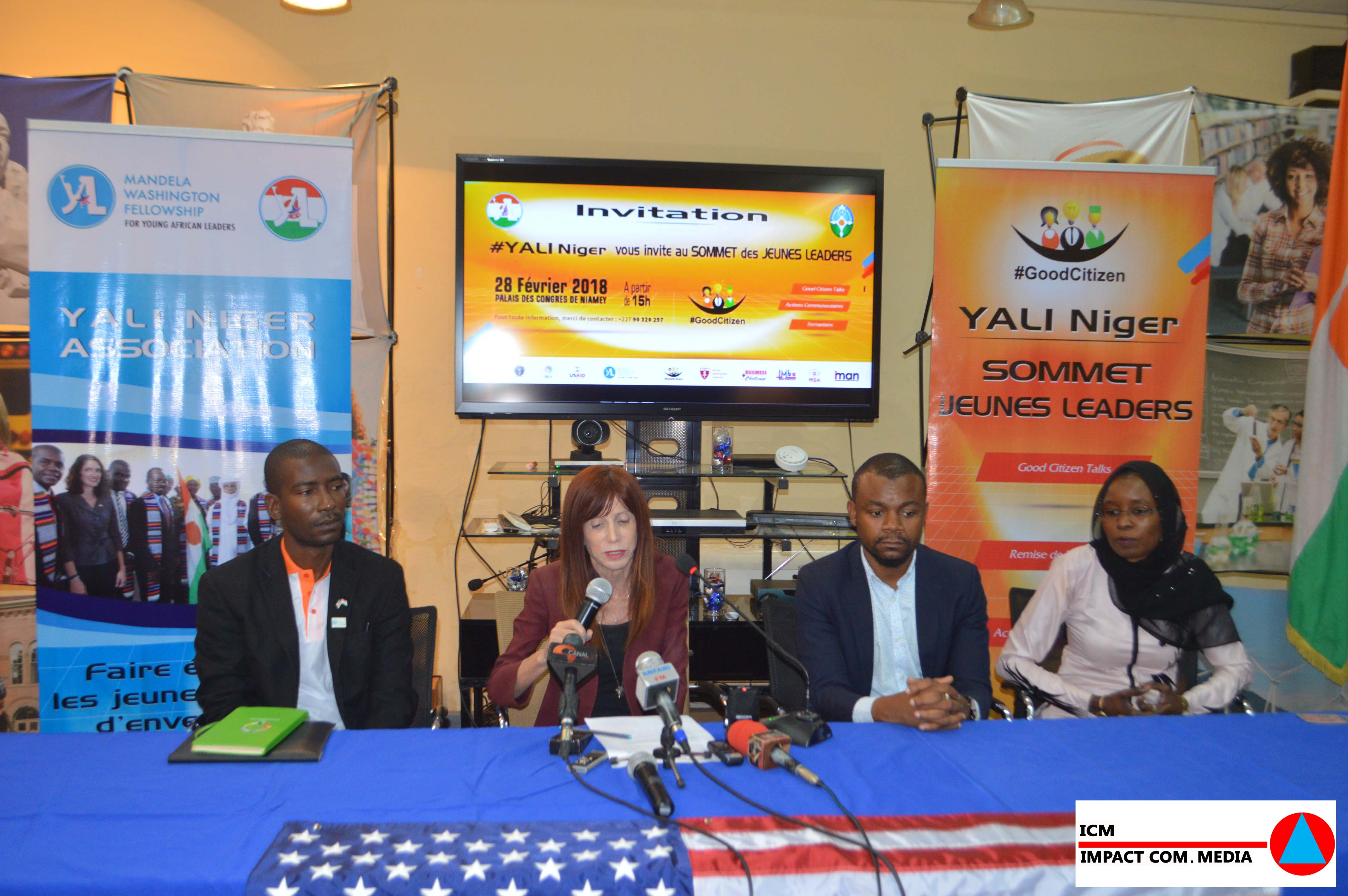 Campagne GOOD CITIZIEN : un sommet des jeunes pour marquer la fin de la campagne initiée par le Yali-Niger
