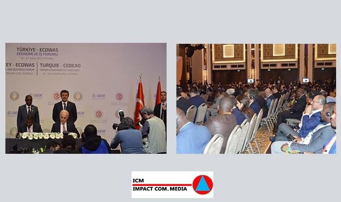 La Turquie veut signer des accords de libre échange avec les pays de la CEDEAO