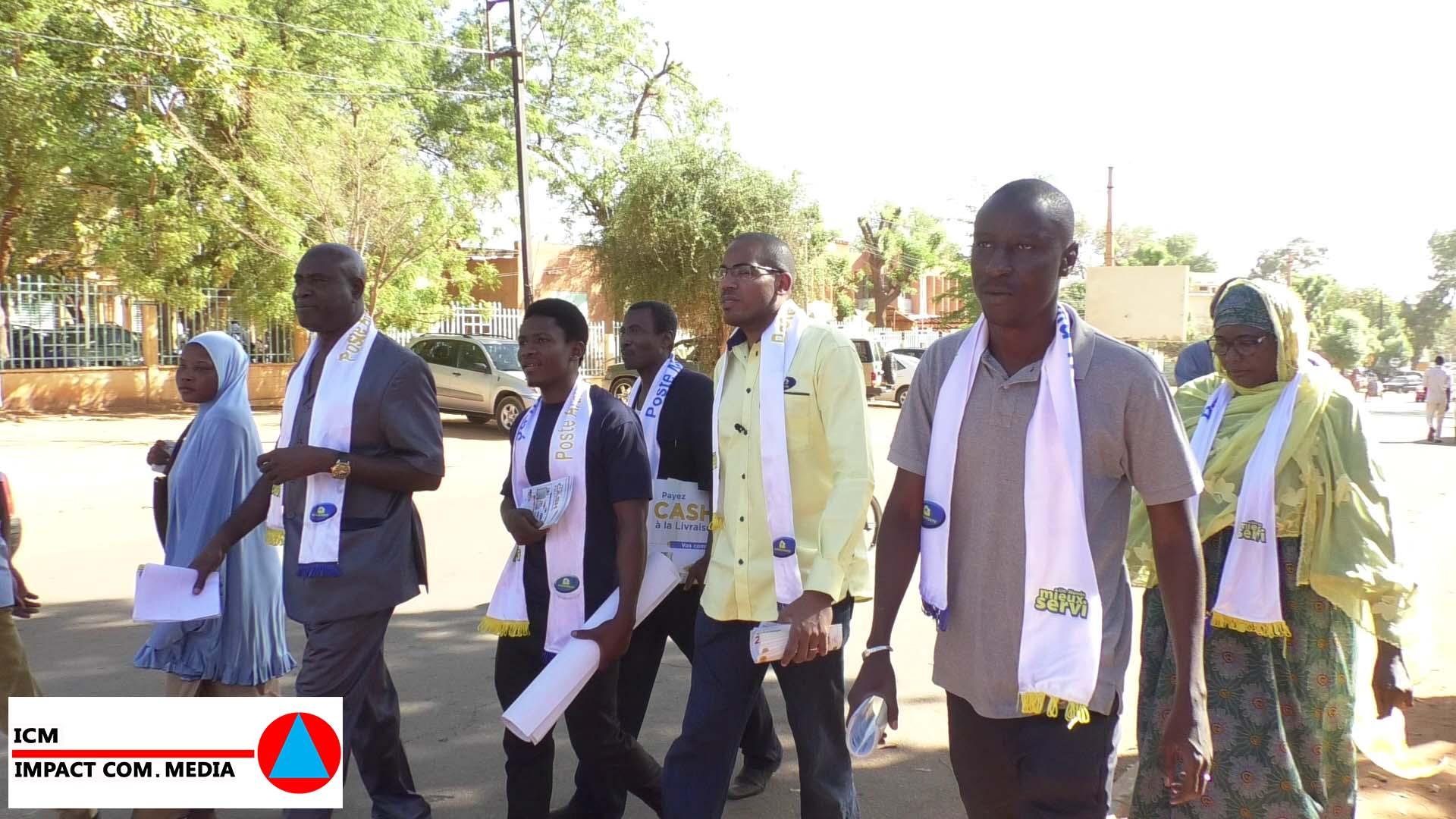 Journée tous vendeurs de Niger Poste