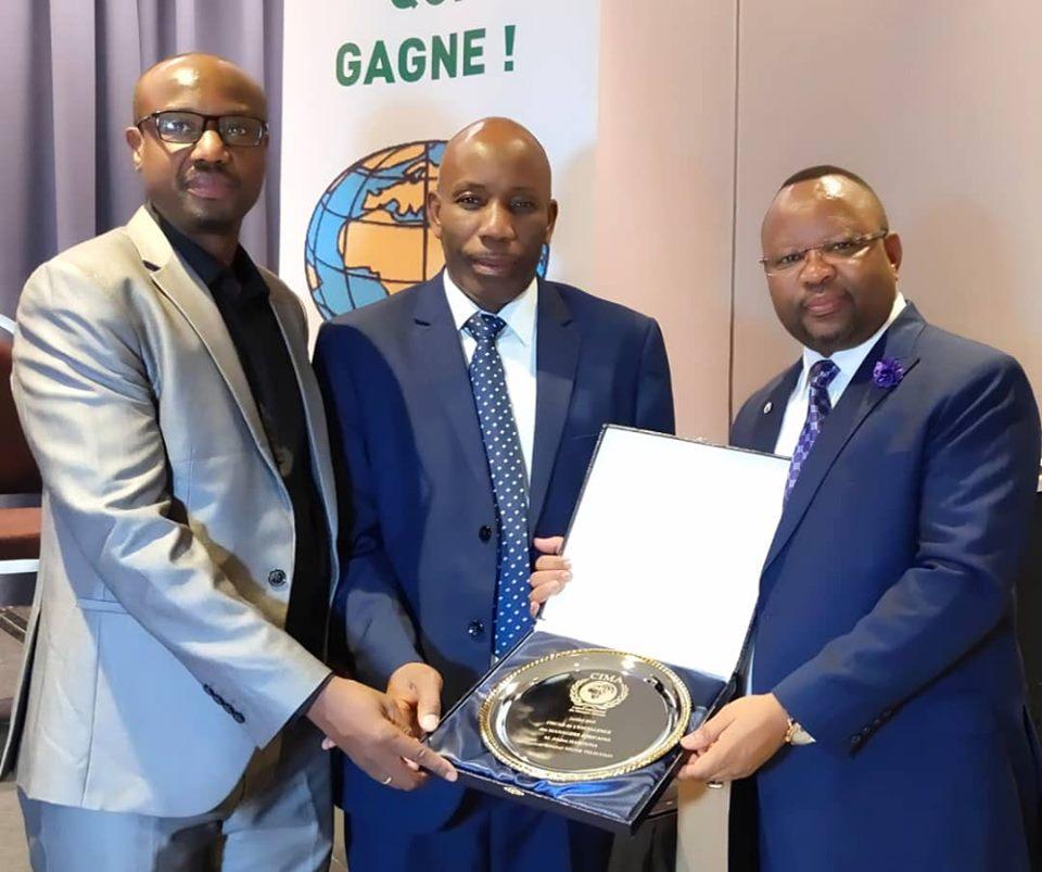 Dr Abdou Harouna, lauréat du Meilleur Manager en Afrique 2019