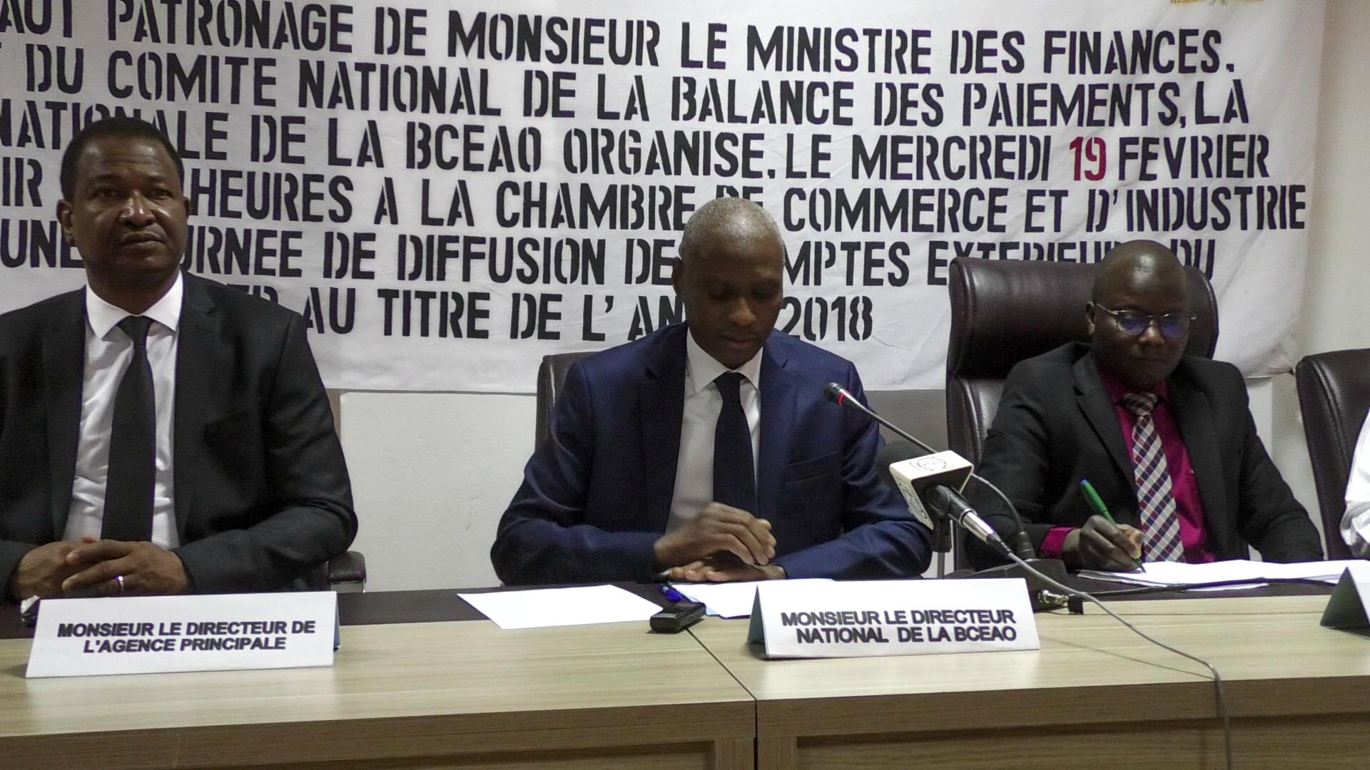 BCEAO/Niger : Journée de diffusion de la balance des paiements 2018