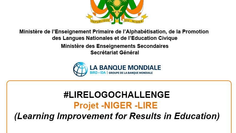 #LIRELOGOCHALLENGE – Appel à proposition par concours – Projet -NIGER -LIRE