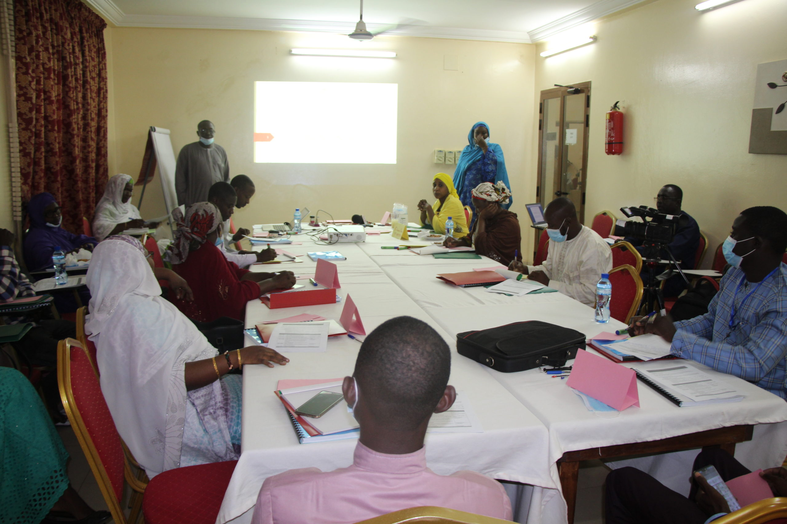 Deux (2) ateliers à l'endroit des formateurs dans le cadre du Projet Emploi des Jeunes et Inclusion Productive (PEJIP).