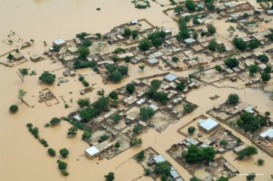 Niger: Inondations causées par des pluies diluviennes