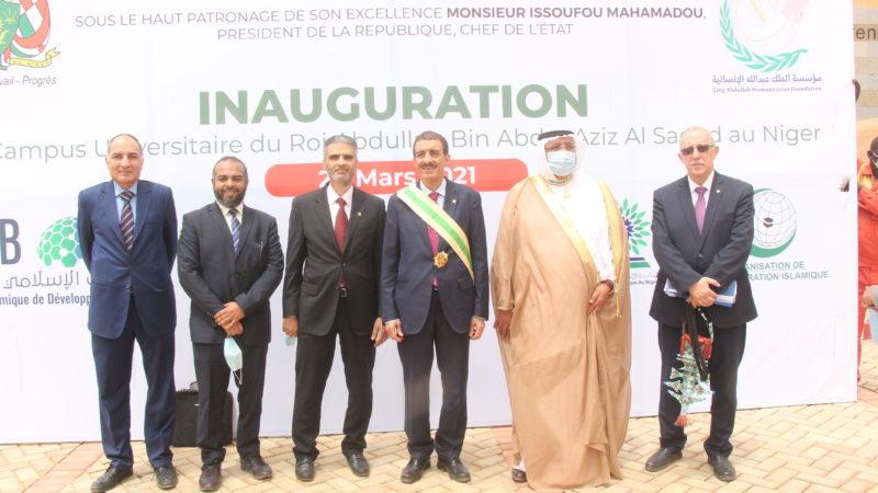 Inauguration du complexe universitaire des jeunes filles de Niamey
