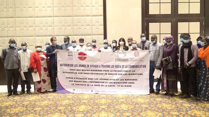 Niger/Migration : Forum d'échanges avec les médias nigériens pour une information de qualité sur les migrations