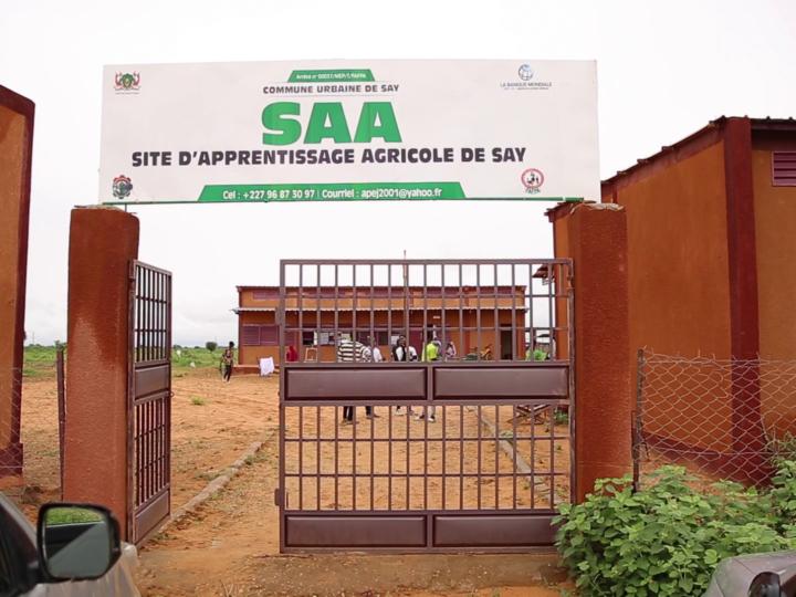 Site d'Apprentissage Agricole (SAA) de Say : rentrée de la 2ème cohorte