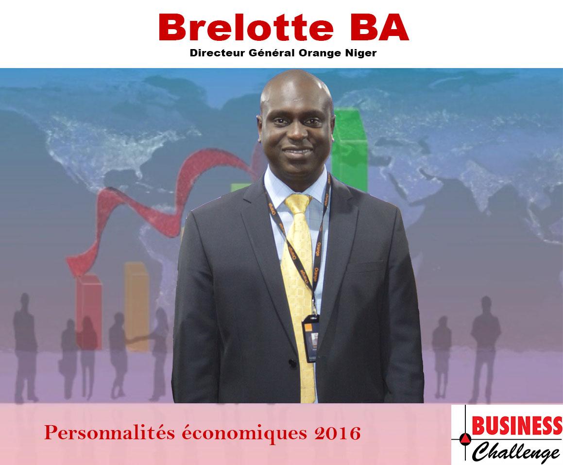 Brelotte BA, parmi les personnalités économiques de l'année 2016