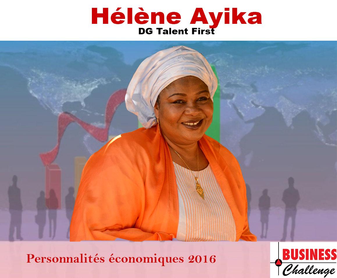 Hélène Ayika, parmi les personnalités économiques de l'année 2016