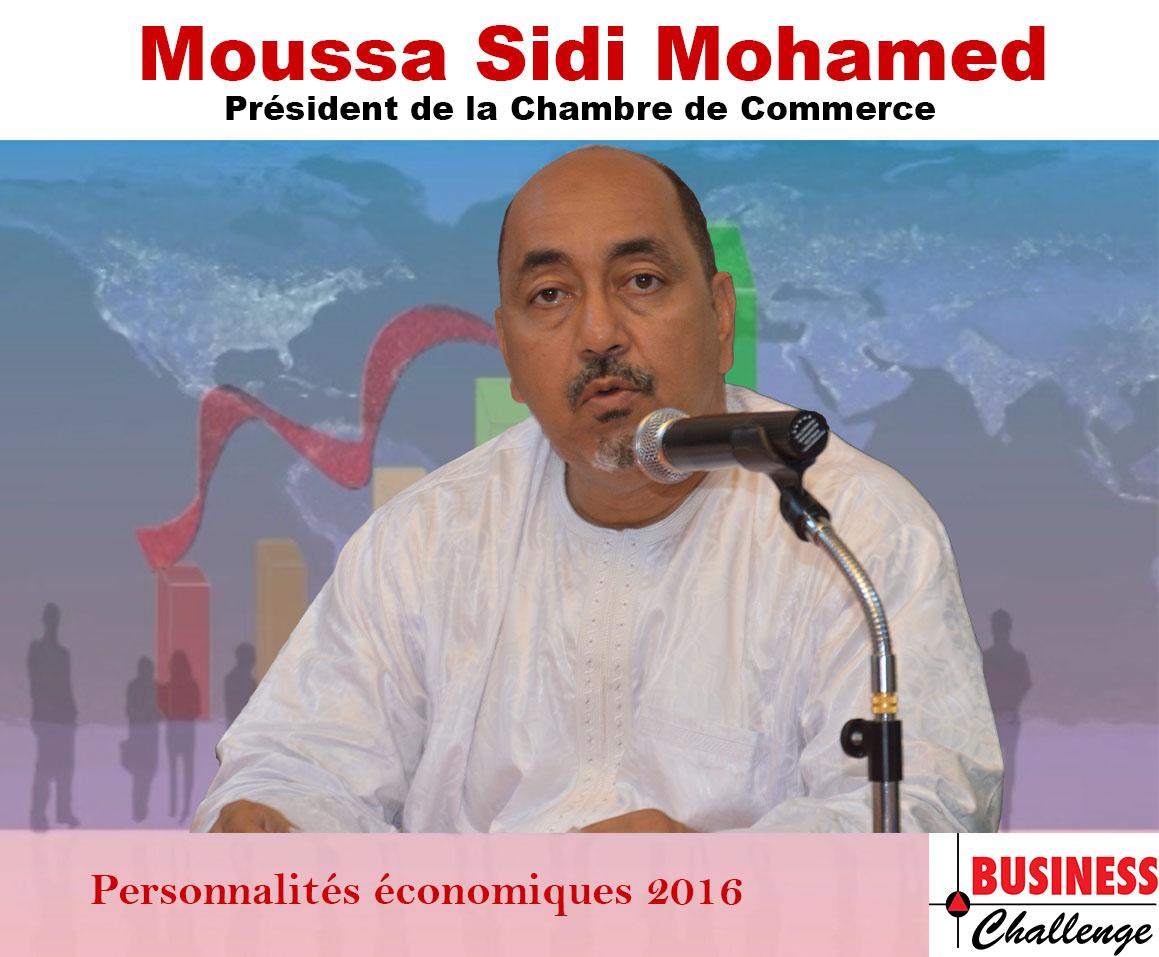 Moussa Sidi Mohamed, parmi les personnalités économiques de l'année 2016