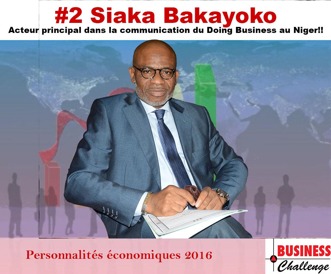 Siaka Bakayoko, parmi les personnalités économiques de l'année 2016