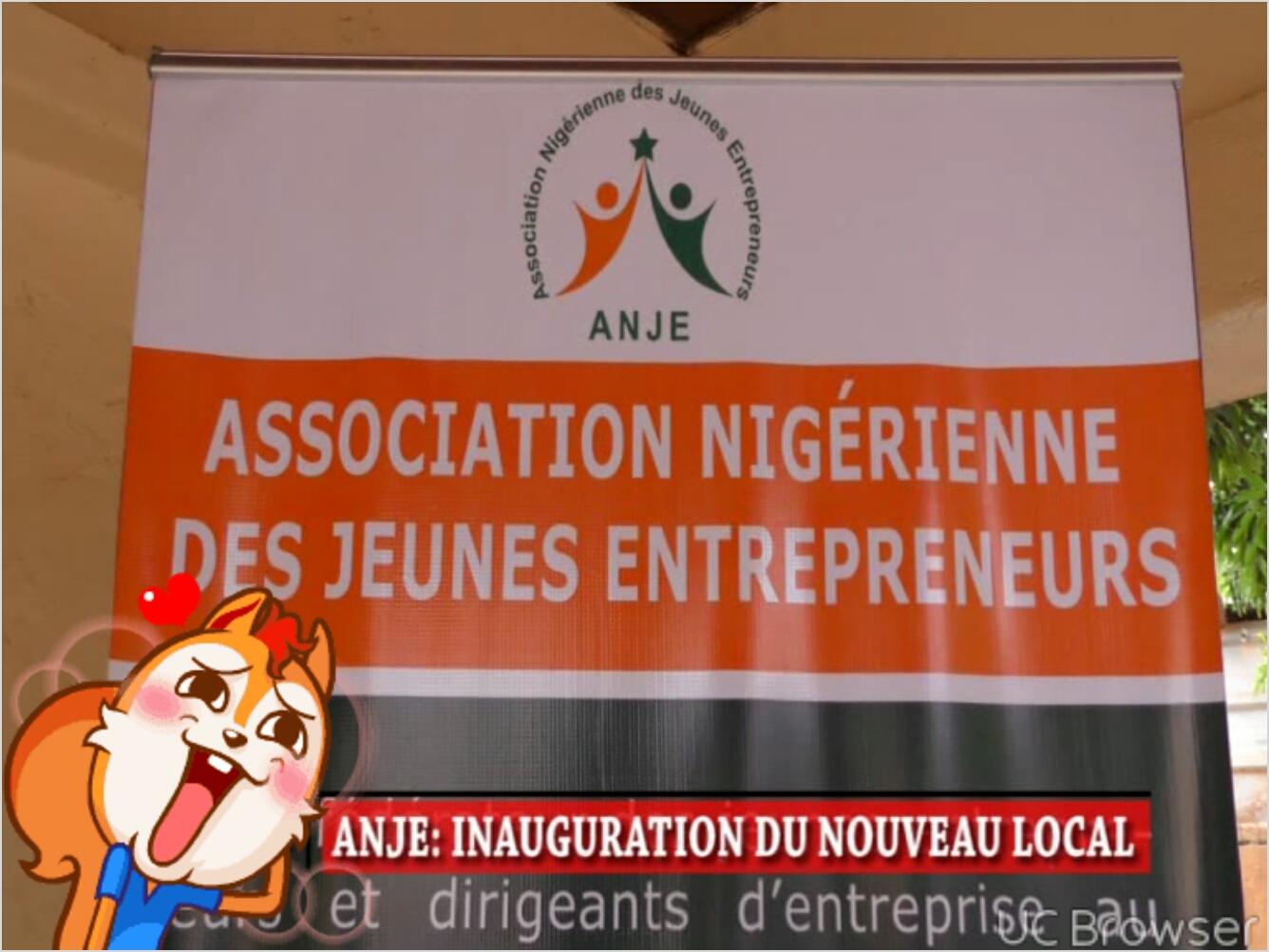 Inauguration du siège de ANJE