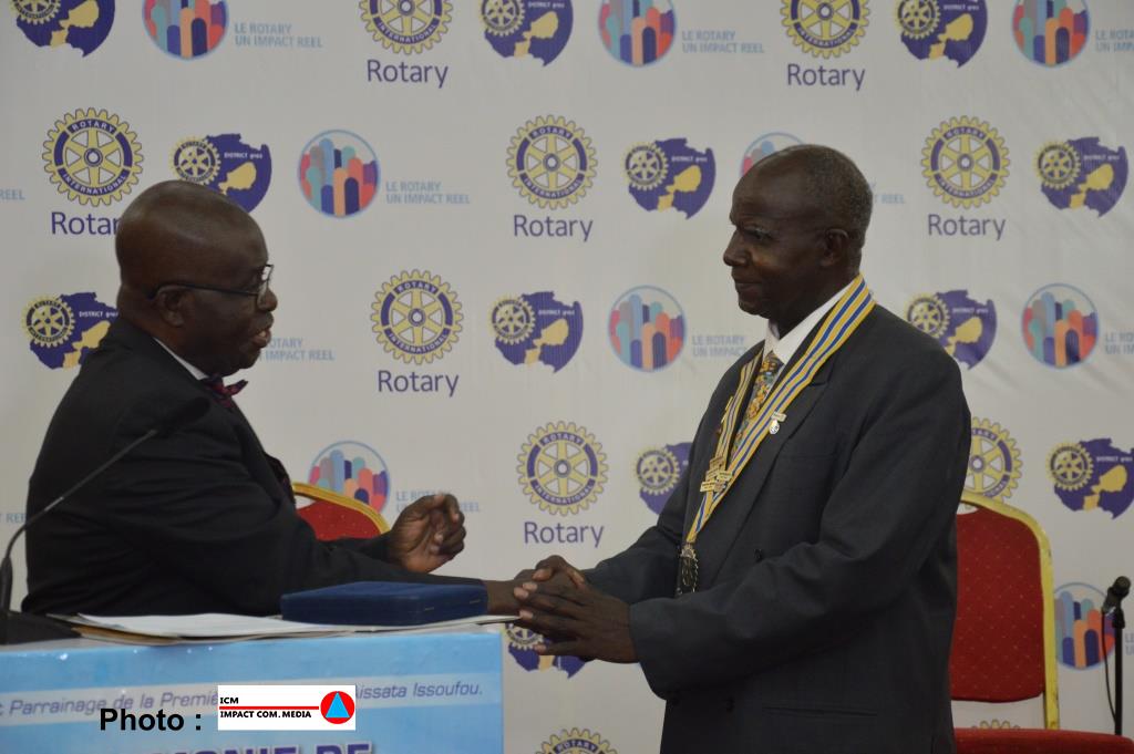 ROTARY CLUB INTERNATIONAL: le Niger capitale du district 9102 de l'Afrique de l'Ouest
