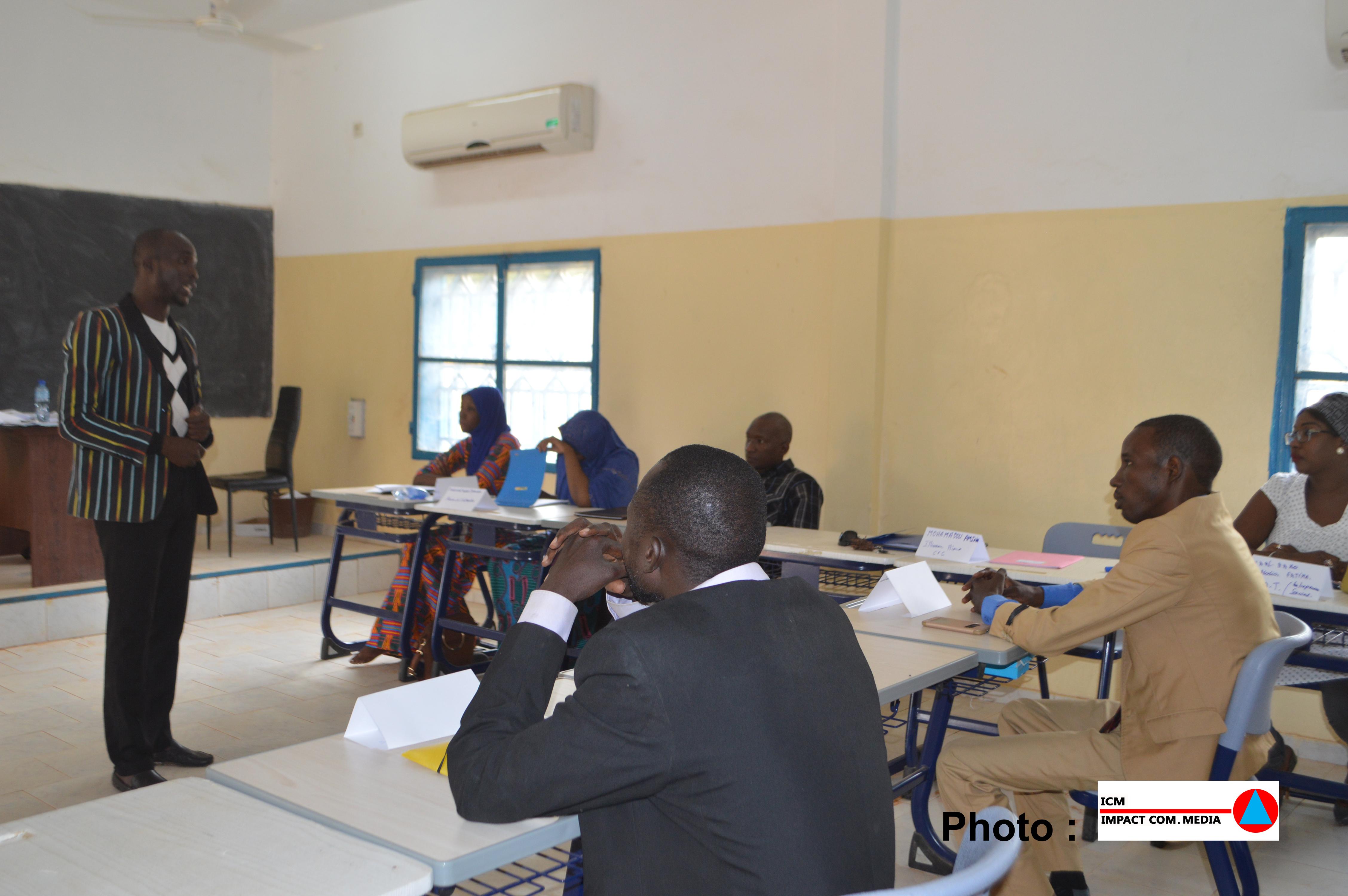 Les candidats présélectionnés de la CPA, en séance de formation