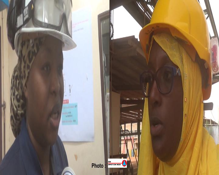 Kinassa Salmatou Ibrahim et Idrissa Oumarou Safiatou, des femmes qui font la fierté « dans les mines » du Niger