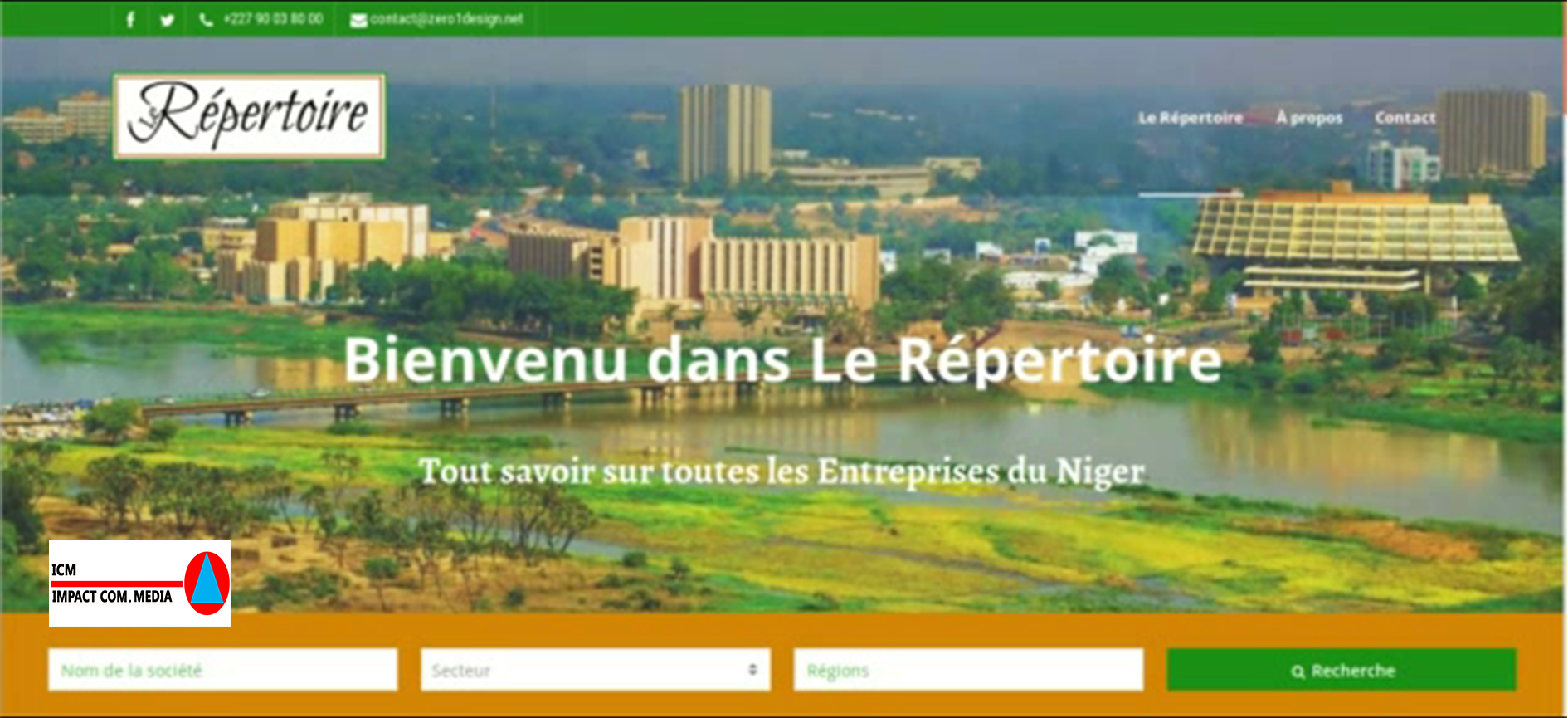 Les entreprises Nigériennes ont désormais leur répertoire en ligne