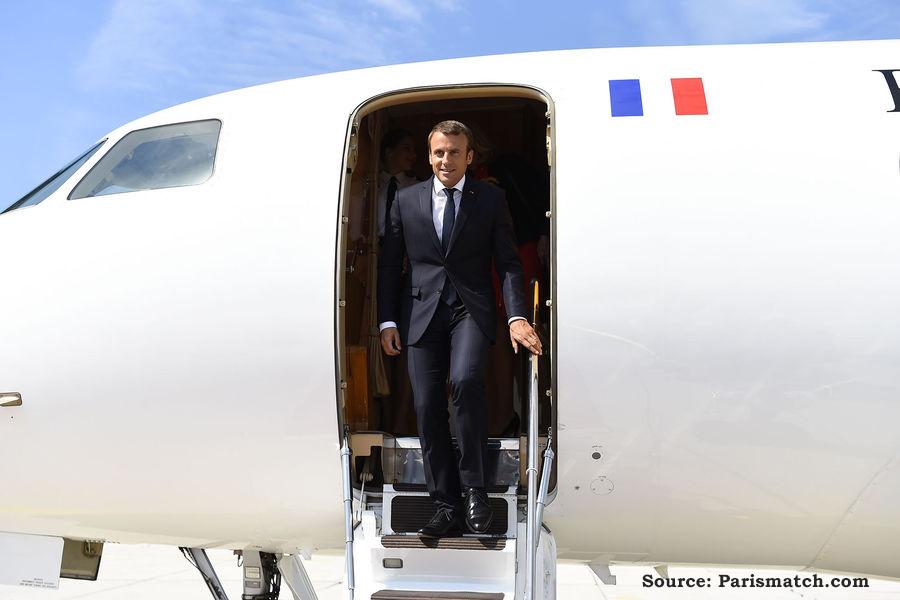 Visite du Président MACRON au Niger
