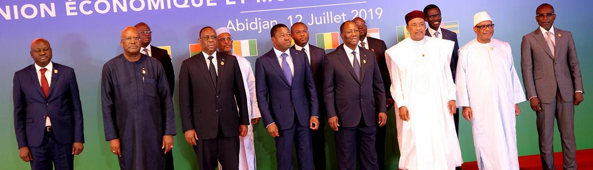 UEMOA : communiqué final de la 21ème  session de la conférence des chefs d'Etat et de gouvernement
