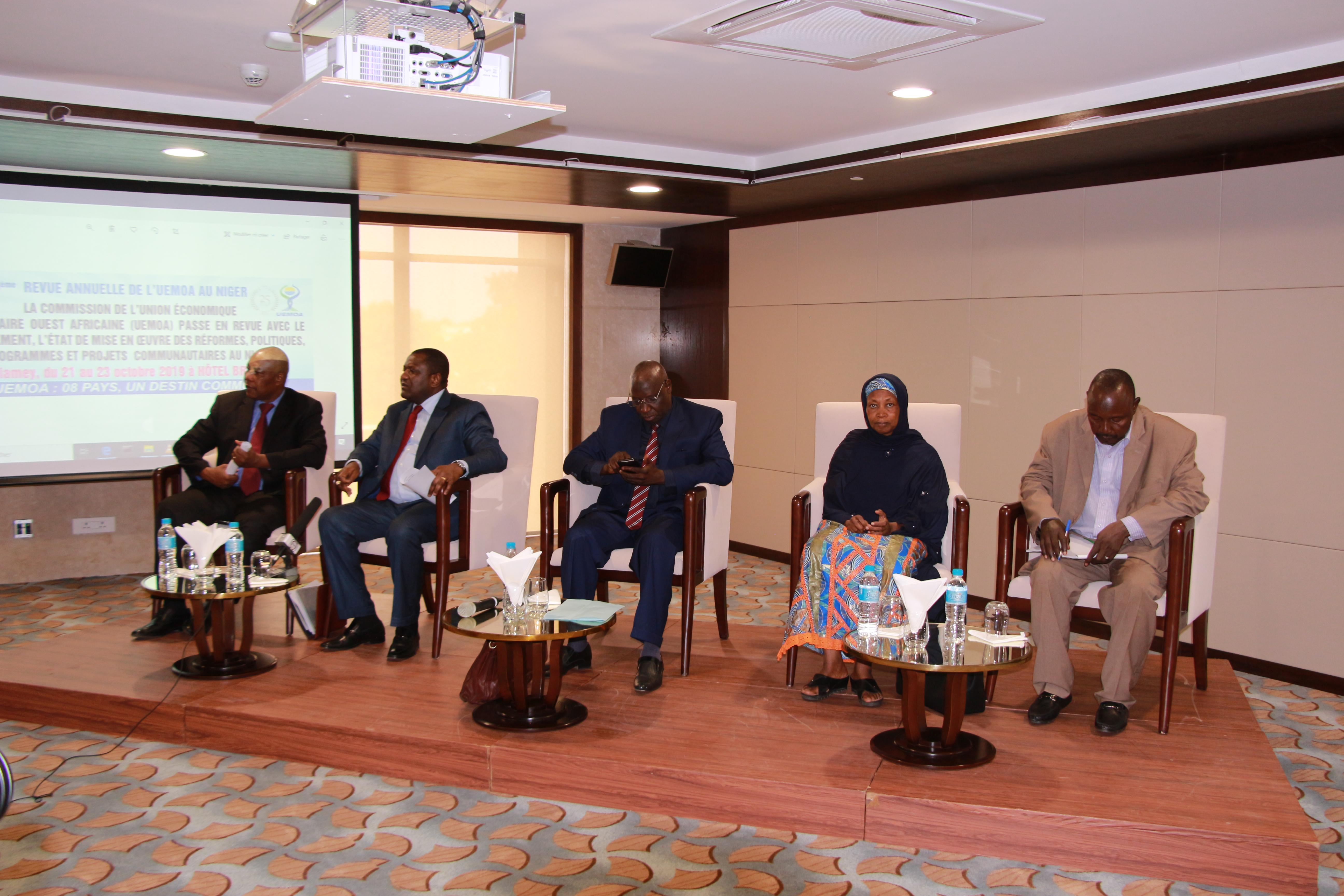 5ème revue annuelle de l'UEMOA au Niger
