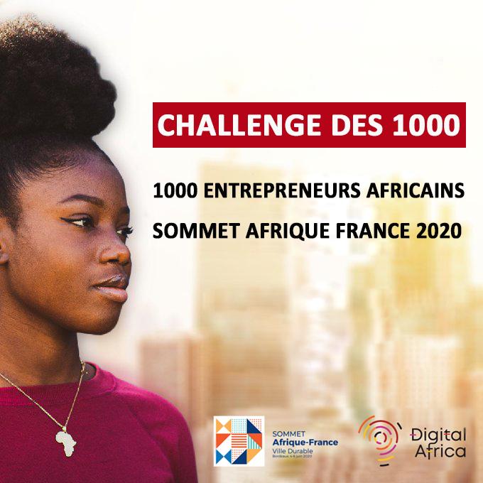 Sommet Afrique France 2020 : 22 nigériens au rang des lauréats du Challenge 1000 entrepreneurs