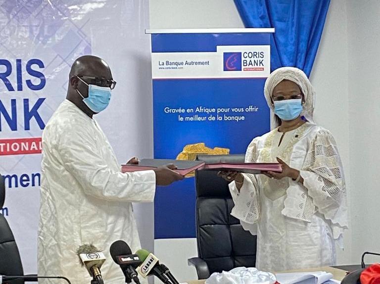 Signature de convention de financement entre Orange Niger et Coris Bank International Niger pour un montant de 31 milliards FCFA