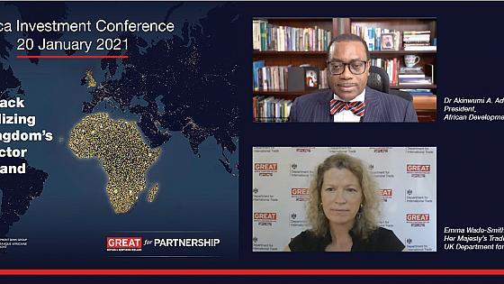 Conférence sur l'investissement en Afrique 2021