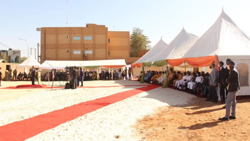 Construction du futur siège de la Banque Agricole du Niger