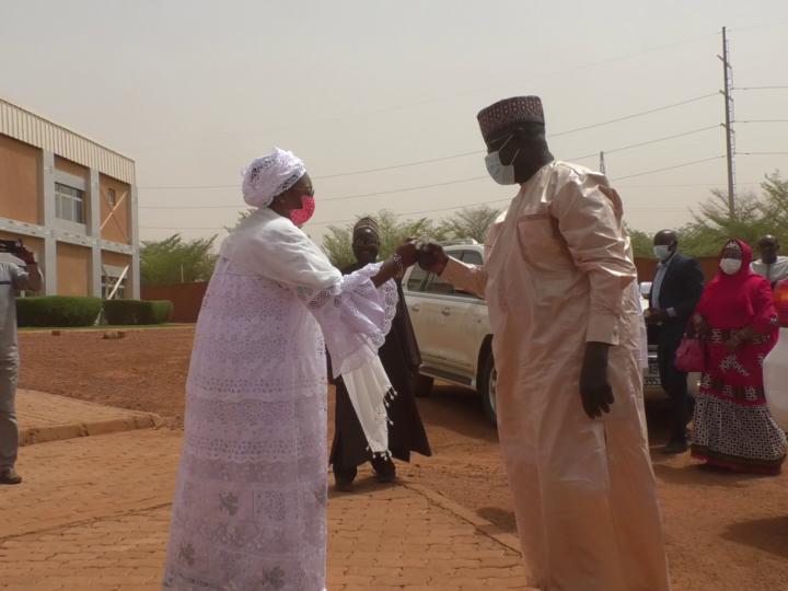 CCIN: série de visites dans des marchés de Niamey