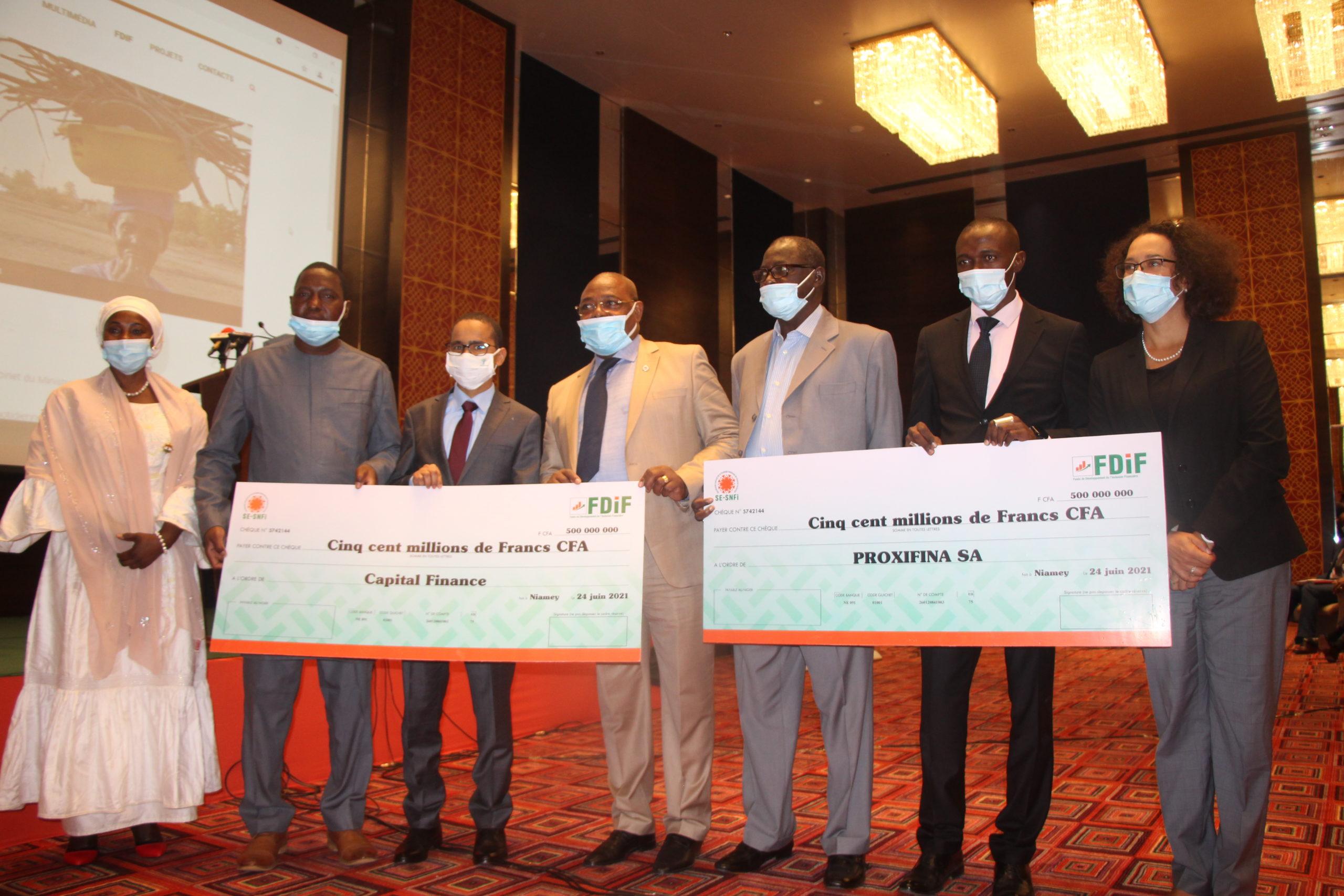 Création d'un fonds de Développement de l'inclusion financière au Niger
