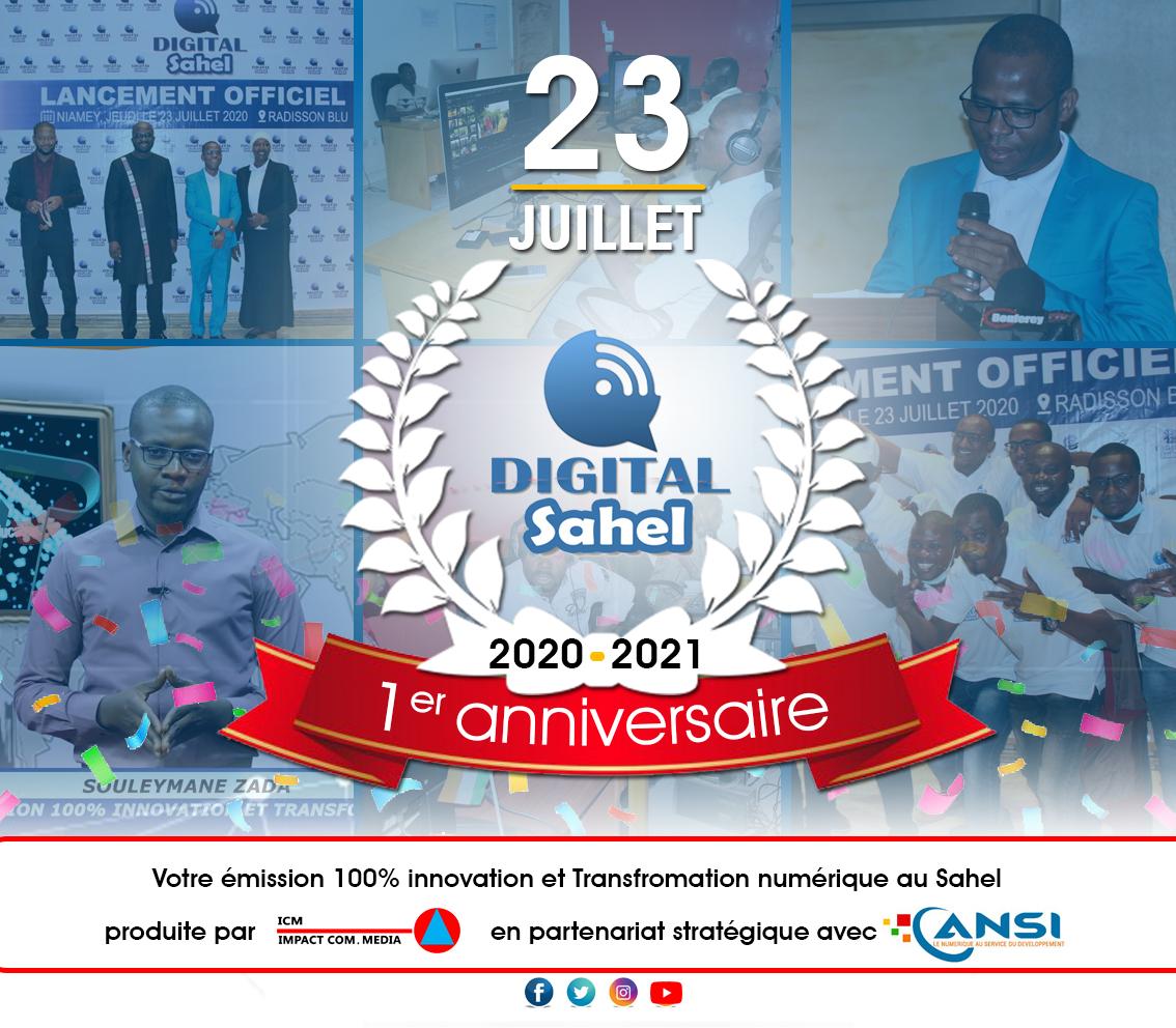 Digital Sahel fête son premier anniversaire