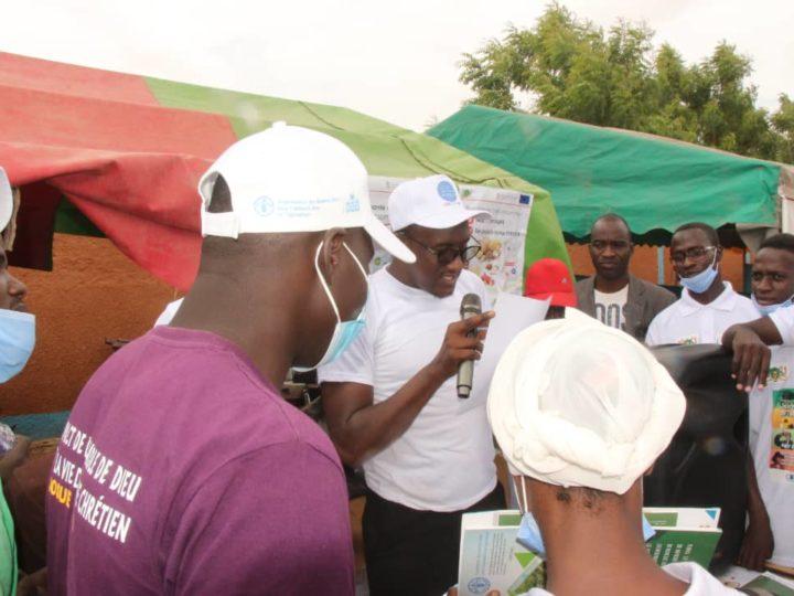 Lancement de la campagne de sensibilisation pour une alimentation variée et équilibrée contenant des produits fortifiés